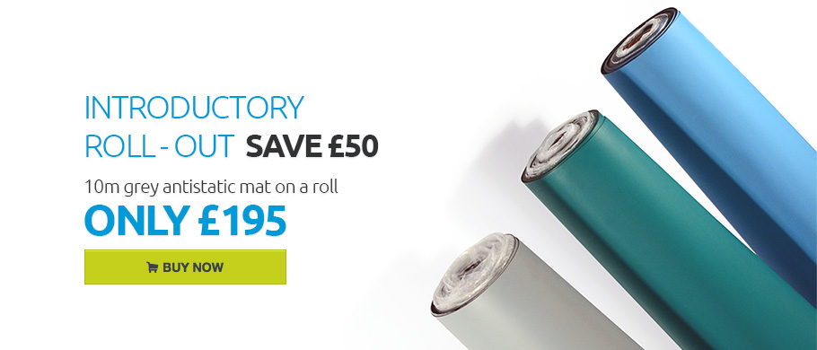 Antistatic mat for £195