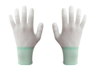 ESD Finger tip coated glove