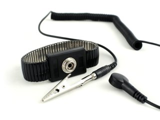 Metal adjustable wrist strap