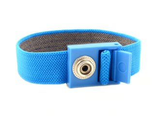 Fabric adjustable wrist strap