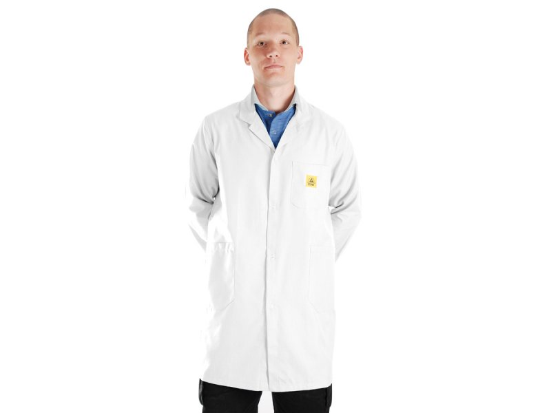 ESD lab coat - white | ESD WORLD