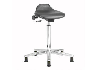 ESD Vinyl sit stand stool