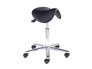 ESD Vinyl saddle stool