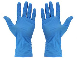 ESD Disposable nitrile glove